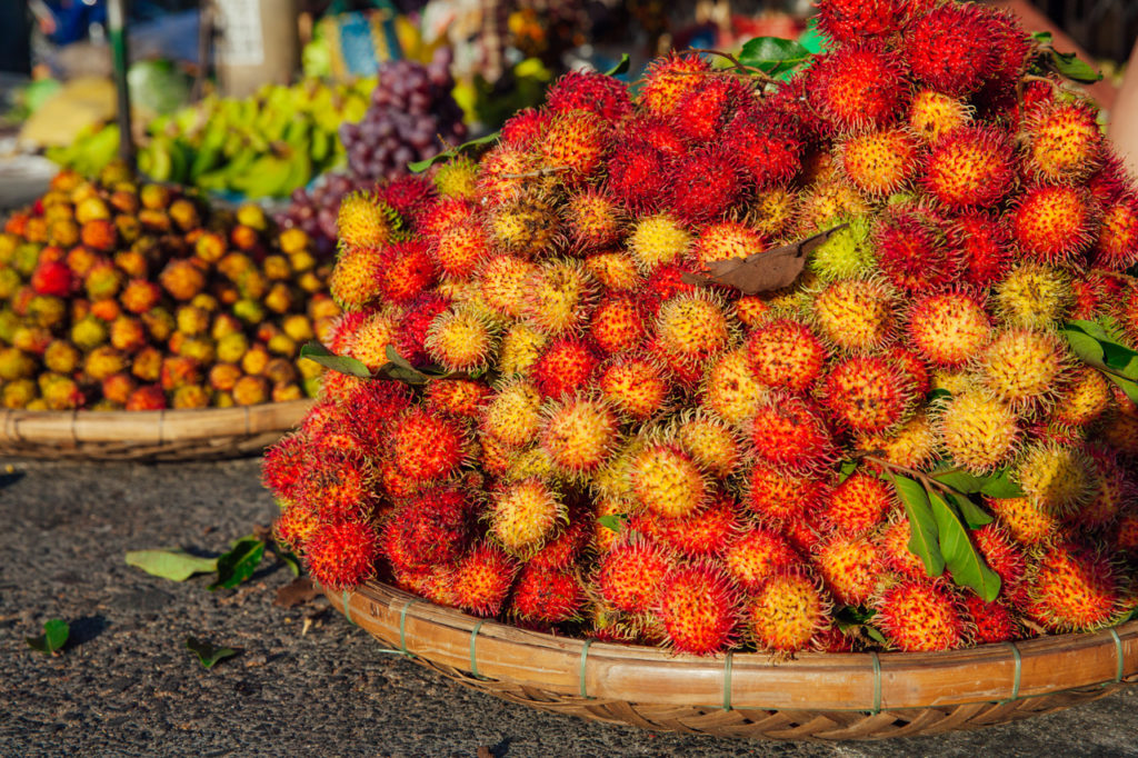 Fruits of Vietnam: Rambutan (Chom chom)