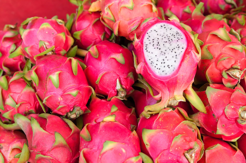 Fruits of Vietnam: Dragon fruit (Thanh Long)