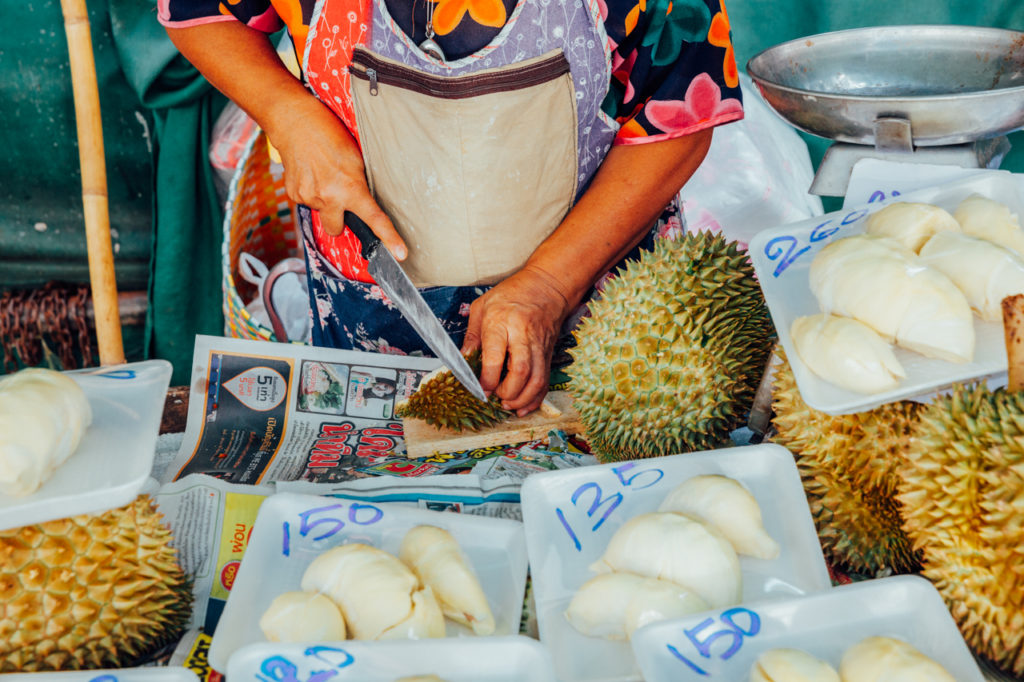Fruits of Vietnam: Durian (Sau rieng)