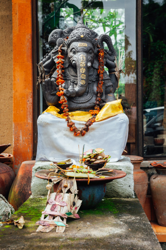 The statue of Ganesha, Ubud, Bali, Indonesia