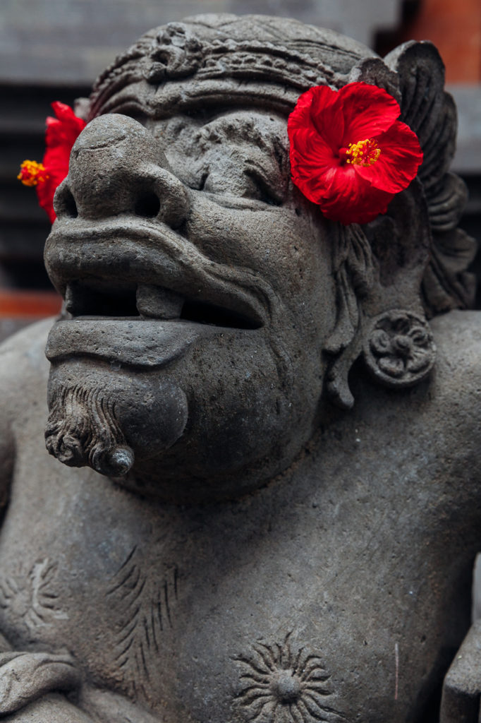 The religious sculpture, Ubud, Bali, Indonesia