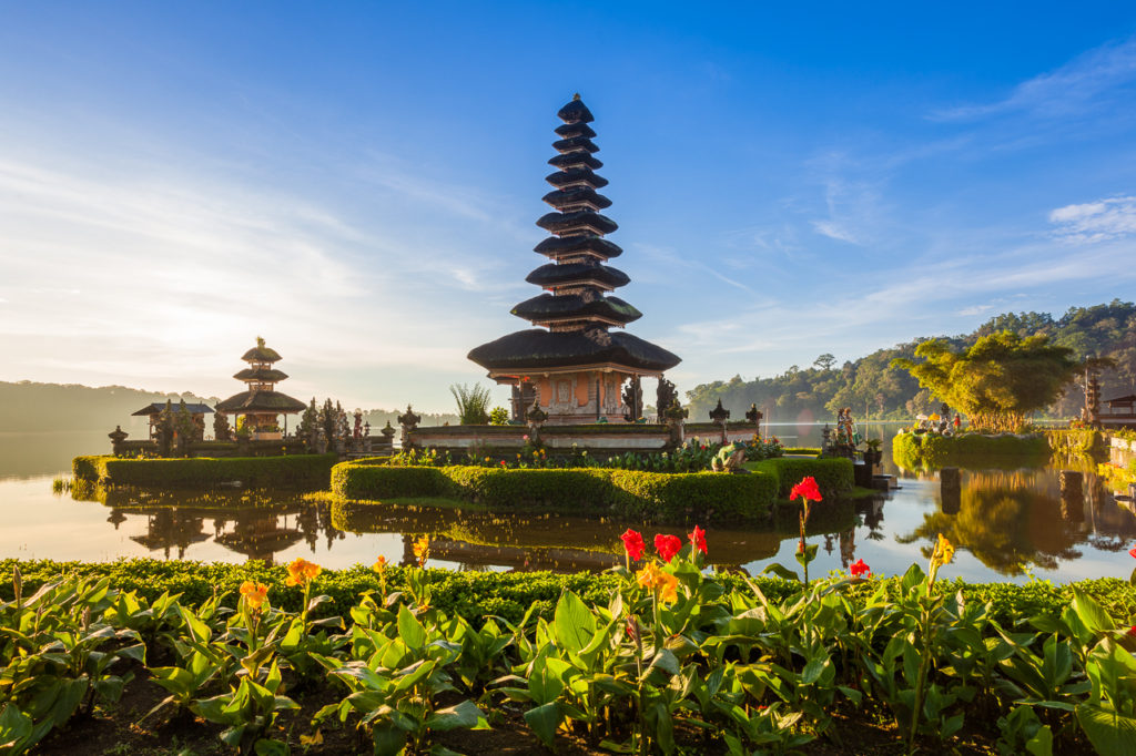 Pura Ulun Danu Bratan, one of the holiest temples in Bali, Bedugul, Indonesia.