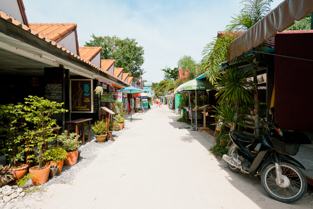 The Walking Street, Koh Lipe, Thailand