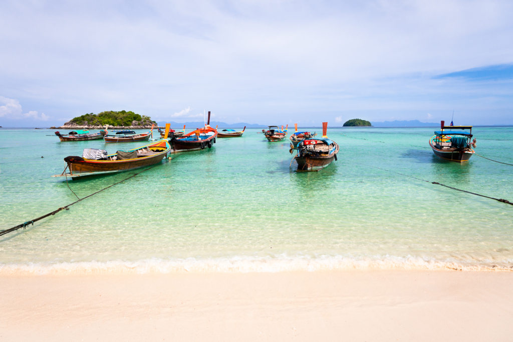 Turquoise water at Sunrise Beach, Koh Lipe, Thailand