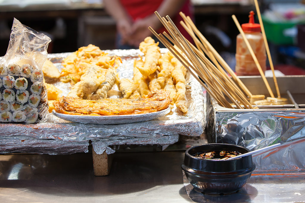Korean street food, Seoul