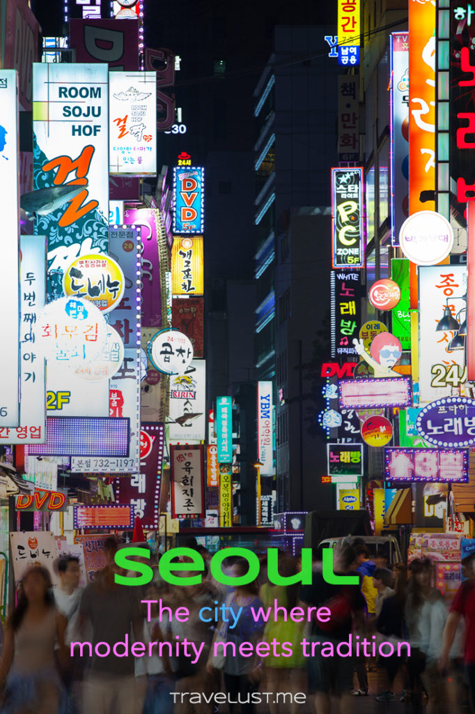Seoul city, the capital of South Korea, is a dynamic metropolis where modern skyscrapers, big shopping malls, global corporations offices, and bustling streets meet up with ancient palaces, tranquil temples, rapidly expanding green spaces, and traditional street markets.