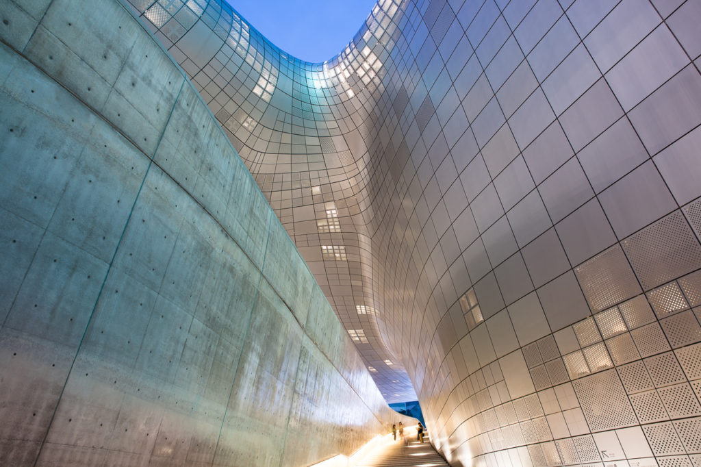 The Dongdaemun Design Plaza, Seoul, South Korea