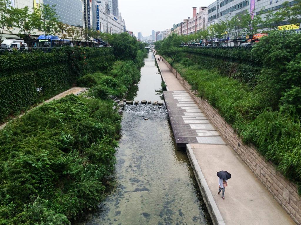 Cheonggyecheon Park, Seoul, South Korea