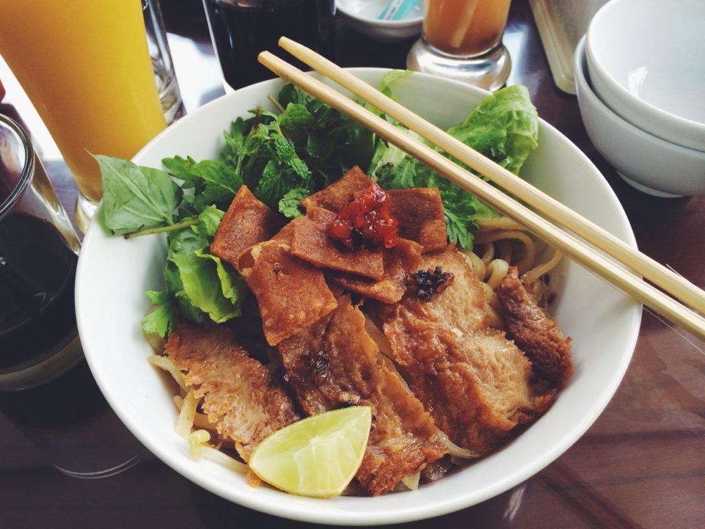 Hoi An, Vietnam: A bowl of Cao Lau