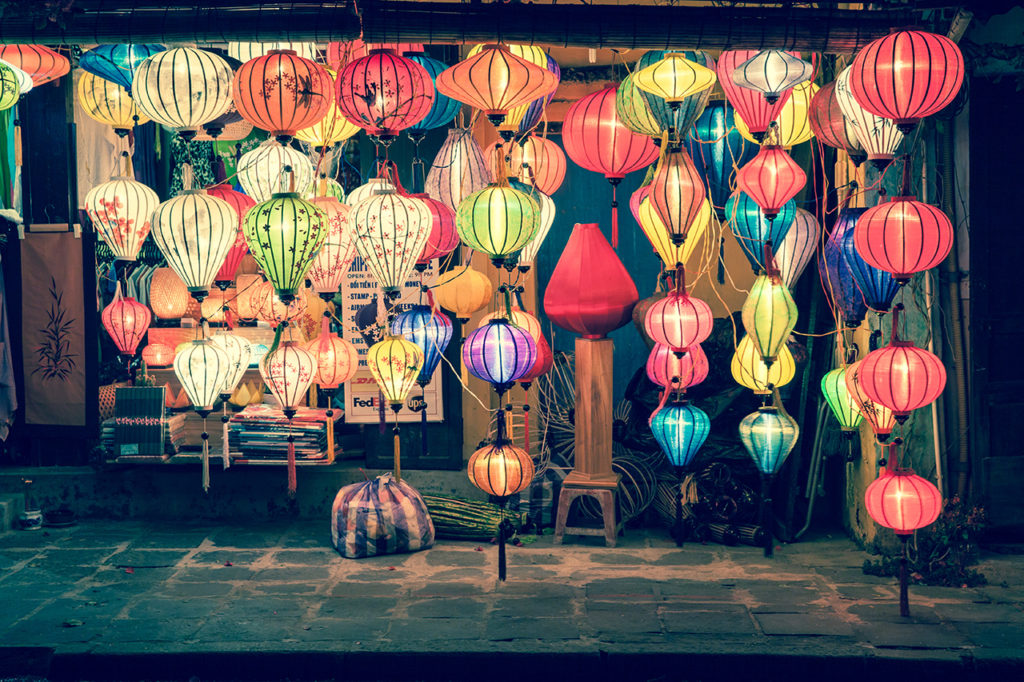 Hoi An, Vietnam: Traditional lanterns