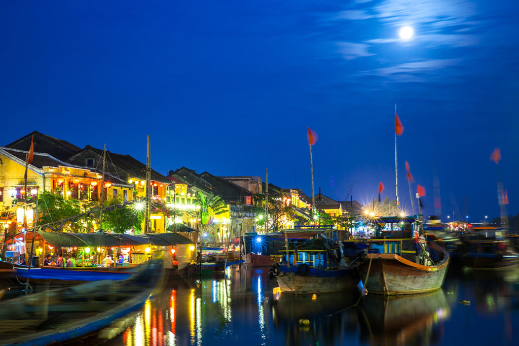 Full moon festival in Hoi An