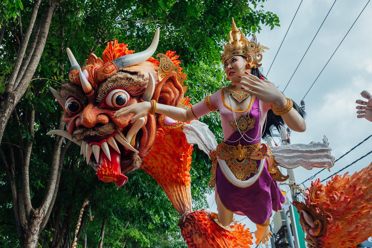 Nyepi Balinese New Year: Ogoh-Ogoh statues