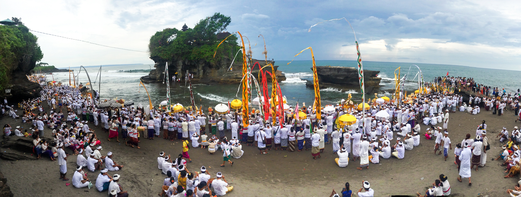 Nyepi Balinese New Year: The Melasti Ritual at Tanah Lot