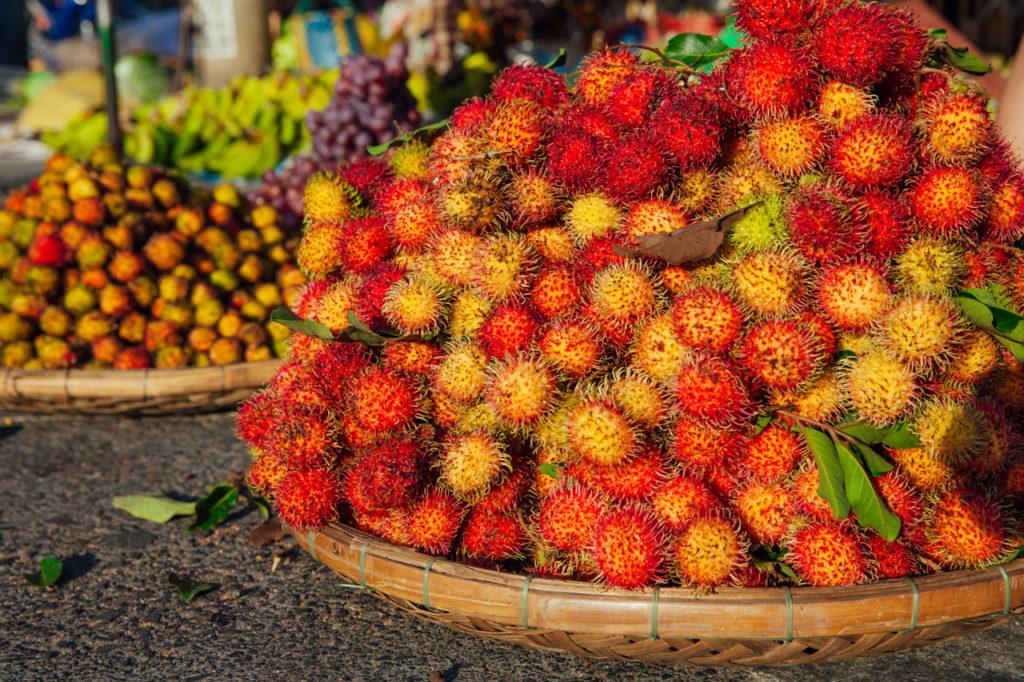 Fruits of Vietnam: Rambutan (Chom chom)