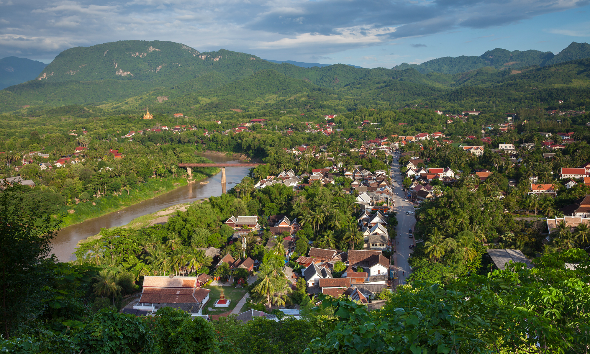 A French charm with Buddhist traditions, Luang Prabang, Laos
